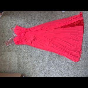 La Femme Prom Dress size 4